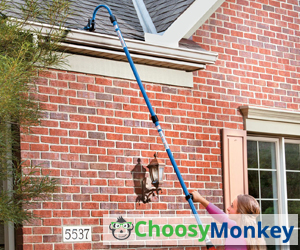 The Best Way to Clean Gutters from Ground