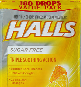 Best cough drop for sore throat