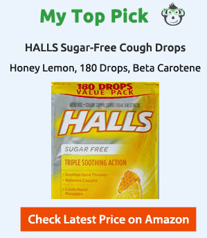 top pick cough drops